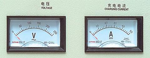 GCA硅整流充电机电压、电流表