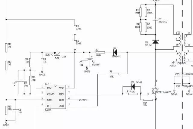 单级功率因数矫正(PFC)直流电源的调试